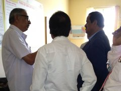 Visit By Dr C.G.Betsurmath KAS (Retd), the Executive Secretary, JSSMVP - 25Sep17