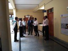 Visit By Dr C.G.Betsurmath KAS (Retd), the Executive Secretary, JSSMVP