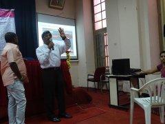Sri D P Manjunatha spoke on Prime Minister Kaushalya Vikas Yojana (PMKVY)