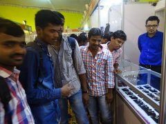 JSS AJDTC Students at d'sire exhibition