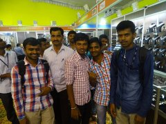 Students & JSS AJDTC Staff at Jewels Of Exhibition
