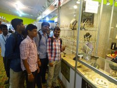 Students of JSS AJDTC At Jewels Of India Exhibition