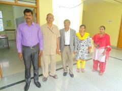 Sri. B.R. Umakant & Sri. D P Manjunatha along with QCI Inspection Team