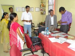 """""""QCI Inspection Team"""" inspecting facilites available at JSS AJDTC"""