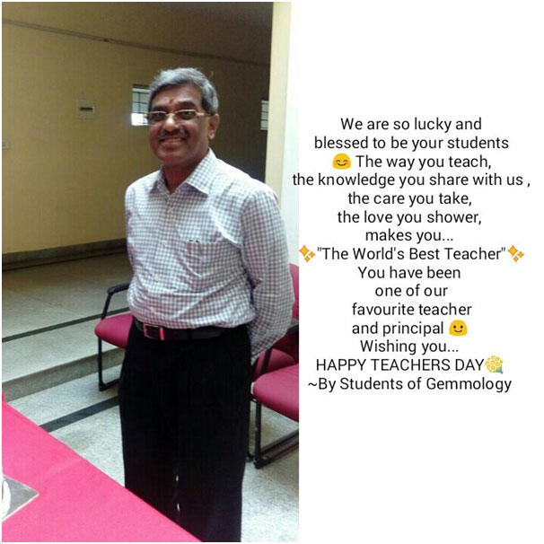 Teachers Day Greeting - JSS AJDTC